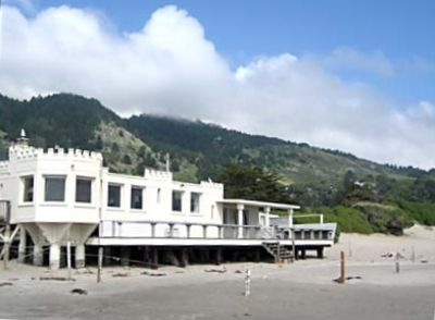 Oceanfront castle house at stinson beach vrbo for Vacation rentals san francisco bay area