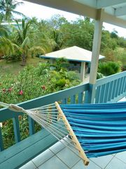 Vieques Island cottage photo - Relax in the hammock overlooking the gardens.