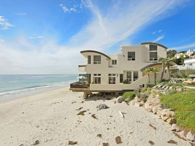 Stunning Oceanfront Home in gated community on private sandy beach