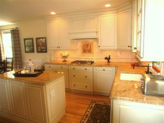 "Wilmington house photo - ""Georgie Cabinets"", granite counter tops & stainless steel"