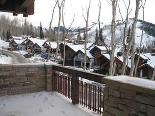 Deer Valley condo photo - View from Patio/Balcony