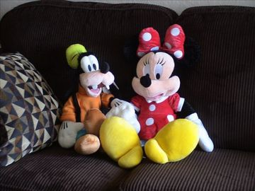 Minnie and Goofy