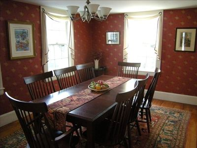 Dining Room (there is another leaf for the table)