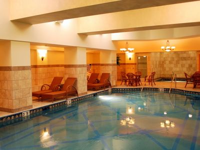 2nd Pool--Indoor Adult with Jacuzzi & Wet and Dry Saunas