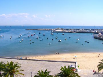 Cascais Marina in April