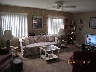 New Port Richey mobile home photo - Living Room