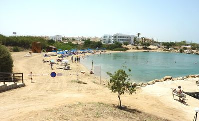 Trinity Beach, 150m from our Villa!