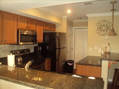 Completely Remodeled Roomy Kitchen with granite and stainless steel appliances