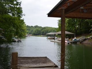 Moneta house photo - Quiet cove. Great for Swimming or floating.