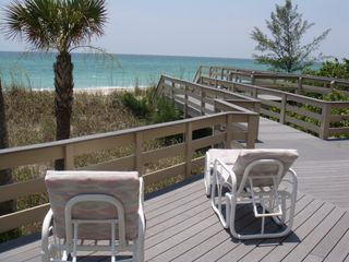 Englewood Beach house photo - Private Deck