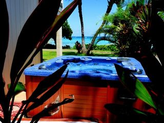 Waimanalo house photo - Hot Tub with Ocean Views