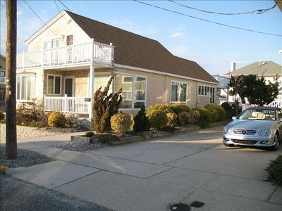 Stone Harbor house rental - Front Of Home-Great View Fromm 1st Floor Entrance
