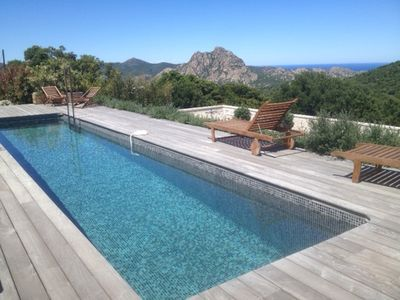Luxury villa with pool close to the beach of Saleccia