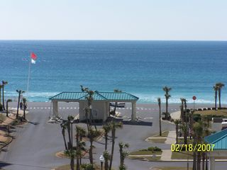 Destin condo photo - A great view of the Gulf as well as the pool below
