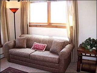 Baldy Mountain Breckenridge townhome photo - Den - Queen sleeper sofa