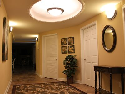 Unusually Large and Well Decorated Entrance Hallway
