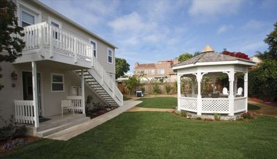 Beautiful backyard area with gazebo for your family to enjoy