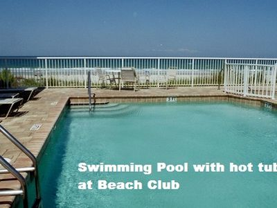 Pool w/hot tub at Harbour Village Beach club. 1 of 3 pool you have access to use