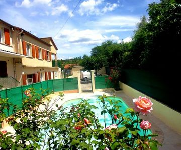 South of France, house in Anduze, 51m2, pool, wifi, air conditioning