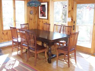 Woodstock cabin photo - Our sunny dining area