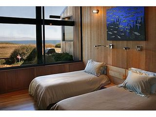 Sea Ranch house photo - Guest Bedroom of two twin beds & ocean view.