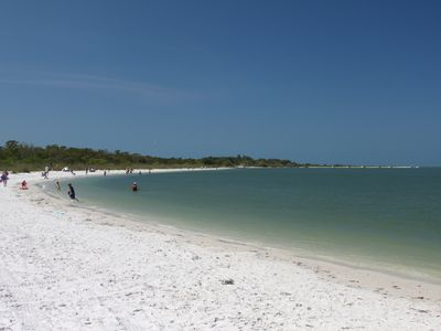 One of the finest beaches in the world on a State Park.