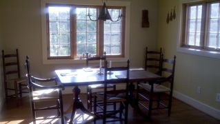 Charlottesville house photo - Mahogany dining table and chairs
