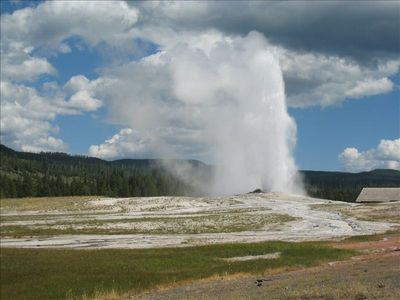 Visit Yellowstone for family fun!