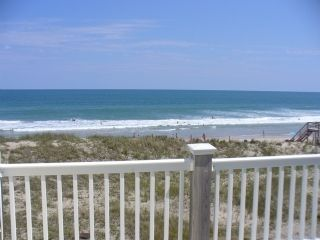 Surf City townhome photo - Upper Level Private Deck View from unit (Has 2 ocean view decks)