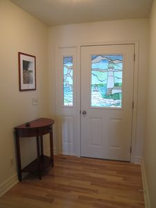 Hand Crafted Stained Glass Entry