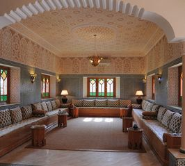 Gueliz villa photo - Traditional Moroccan Salon