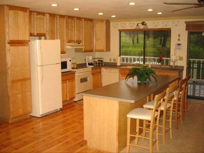 Full featured family kitchen