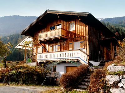 Detached wooden house with fantastic view, tranquil location
