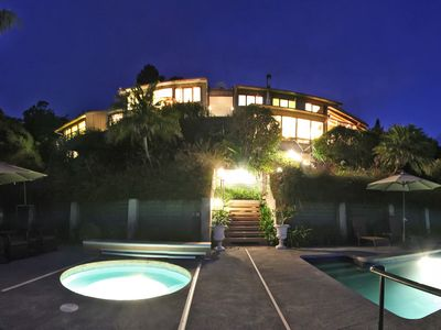 Luxurious Grand Villa after dusk!