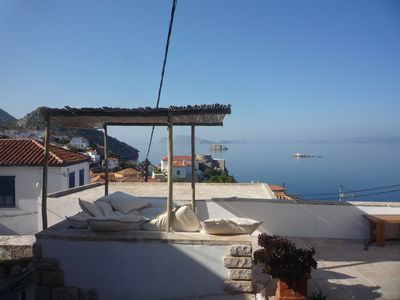 Hydra: House With Spectacular View Of The Sea -Sleeps 3 Person, All Conveniences