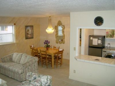 Living, Kitchen, Dining Area