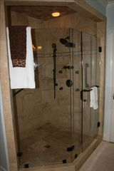 St. Simons Island house photo - Shower in Master Bath