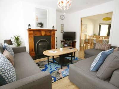 Spacious, Newly Renovated Family Home, With Patio, In The City Centre