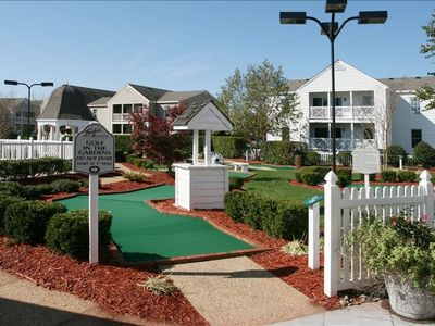 Mini Golf free of charge usage on premises