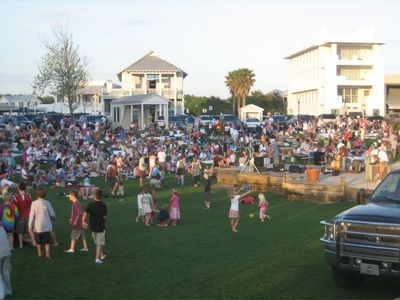Concert Night at the Amphitheater