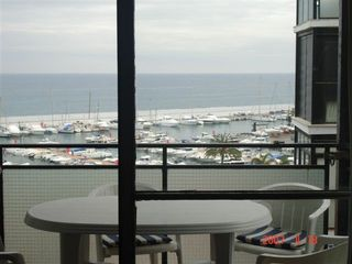 Marbella apartment photo - Marina and Ocean View from the Balcony.