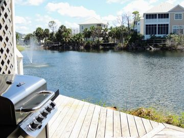 Gulf-view, End unit, Lake-front, Quiet Location 2BR/2.5BA