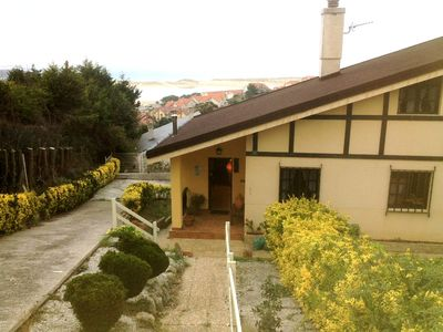 Villa near the sea with beautiful views Usil beach and dunes of Liencres