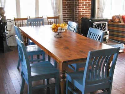 Souris cottage rental - Dining Room