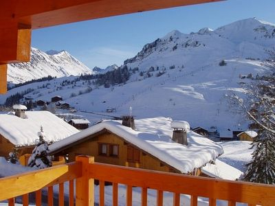6 bedroom cottage in Grand Bornand near the village center and cross country ski trails