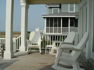 Holden Beach house photo - Oceanfront porch