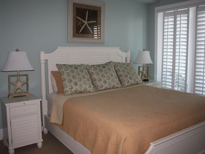 Luxurious Master Suite. King size bed, high quality sheets and amazing views.