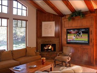 Ketchum house photo - Family Room with Surround Sound and Satellite TV