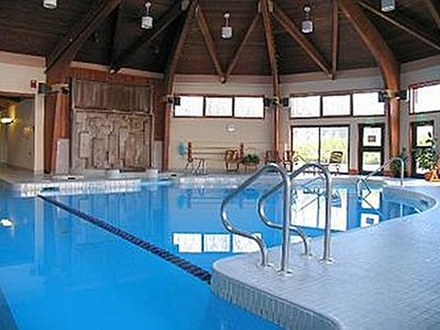 Indoor heated swimming and lap pool at the Spa