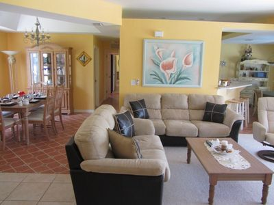 Cape Coral house rental - Living area
